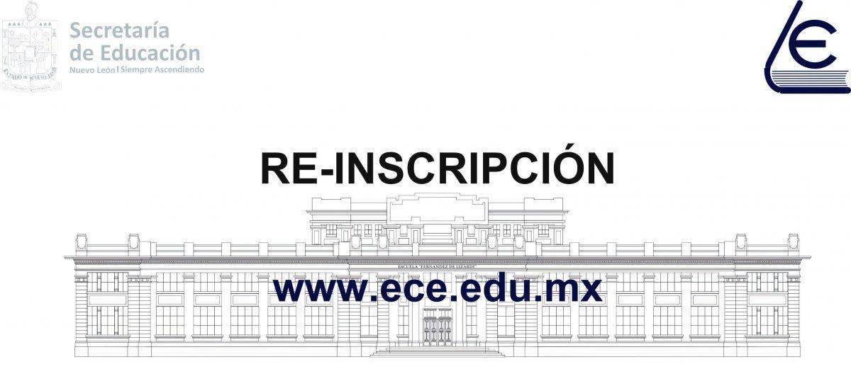 re-inscripción 2020